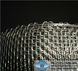 Galvanized crimped wire mesh panel-03
