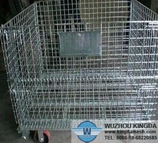 Metal Industrial Baskets With Wheels Metal Industrial