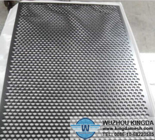 Punched metal sheets