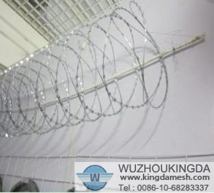 Concertina barbed razor wire