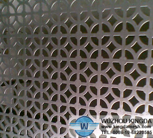 Perforated architecture mesh