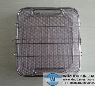 Medical standard sterilization basket