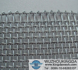 Hot dipped galvanized square wire netting