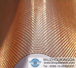 Copper mesh cloth