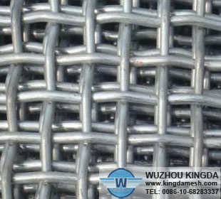 Iron wire crimped mesh