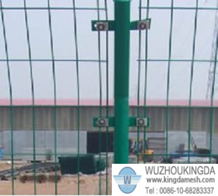 Double wire welded wire mesh panel