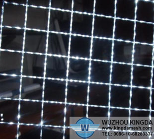 Galvanized crimped wire netting
