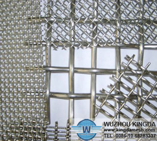 Steel crimped wire netting