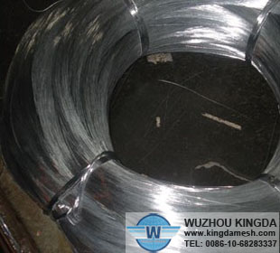 Galvanized wire rod