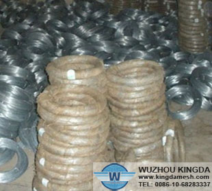 Hot-dip galvanized mild steel wire