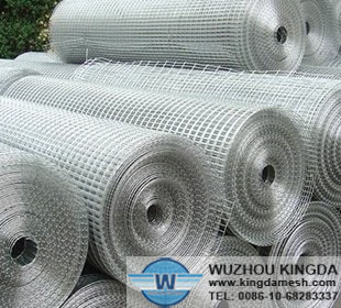 Electro Hot-dip galvanized welded wire mesh