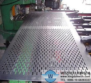 Stainless steel punched metal mesh