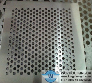 Stainless punched metal mesh