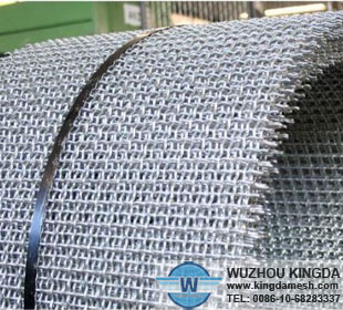 Dip-hot galvanized crimped wire mesh
