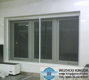 PVC coated stainless security window and door screen