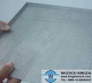 Micro hole etching mesh