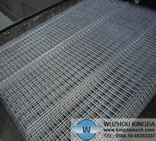 Welded wire mesh reinforcing