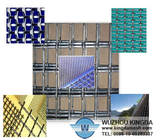 Iron Galvanized Crimped Wire Mesh