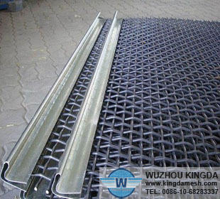 Mining Sieve Crimped Wire Mesh