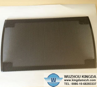 Perforated speaker grill