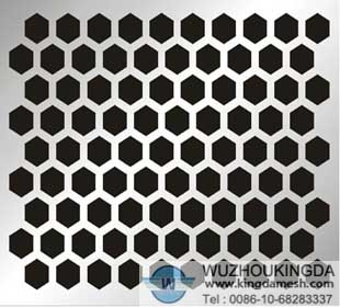 2 mesh stainless steel perforated mesh