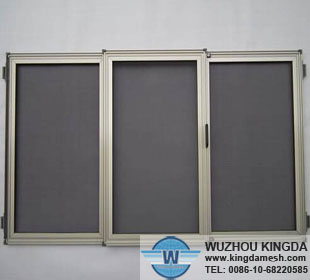 PVC mesh fabric window protection