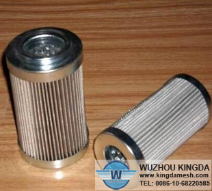 Stainless steel mesh air filter