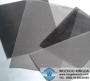 Wire mesh anti theft