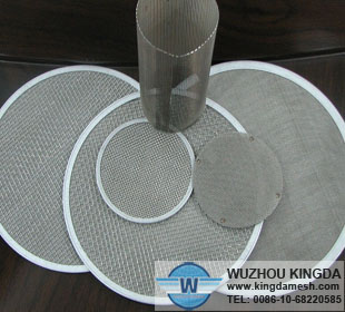Welded stainless steel disc