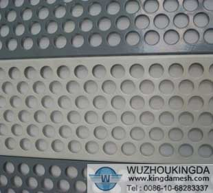 4 mesh galvanized perforated mesh