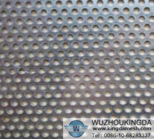 4 mesh stainless steel perforated mesh