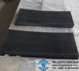 Stainless steel perforated panels