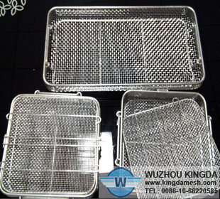Wire mesh basket uses lab