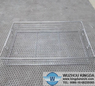 Wire baskets sterilization