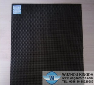 Black stainless steel wire mesh