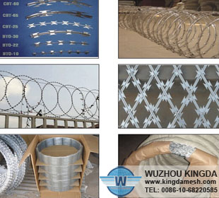 Security razor barbed wire