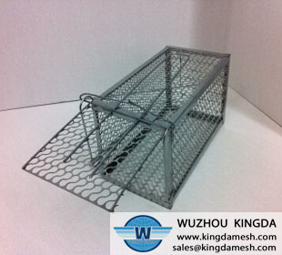 Metal wire rat trap
