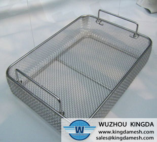steel Wire mesh basket manufacturer