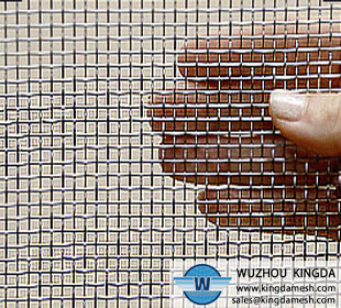 Plain woven stainless steel wire mesh