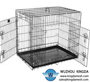 Wire mesh animal house