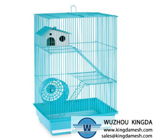 Metal small animal cage