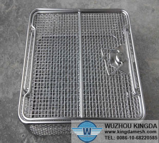 Screen mesh surgical washer trays