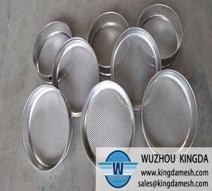 Wire mesh test sieve