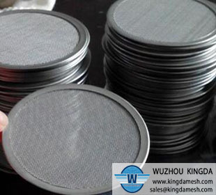 Wire Mesh Screen Disc