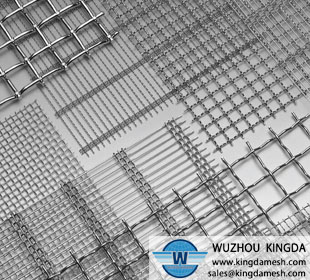 Stainless steel 304 crimp wire mesh