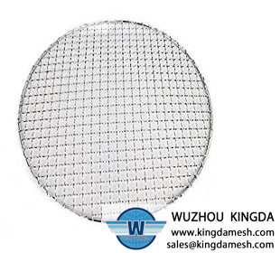 Wire mesh net for roasting