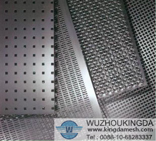 316L perforated metal screen