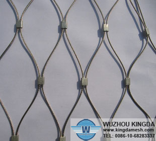 Flexible wire mesh