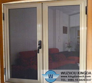 Security mesh screen doors