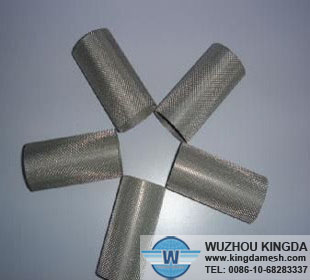 Metal sintered felt filter element